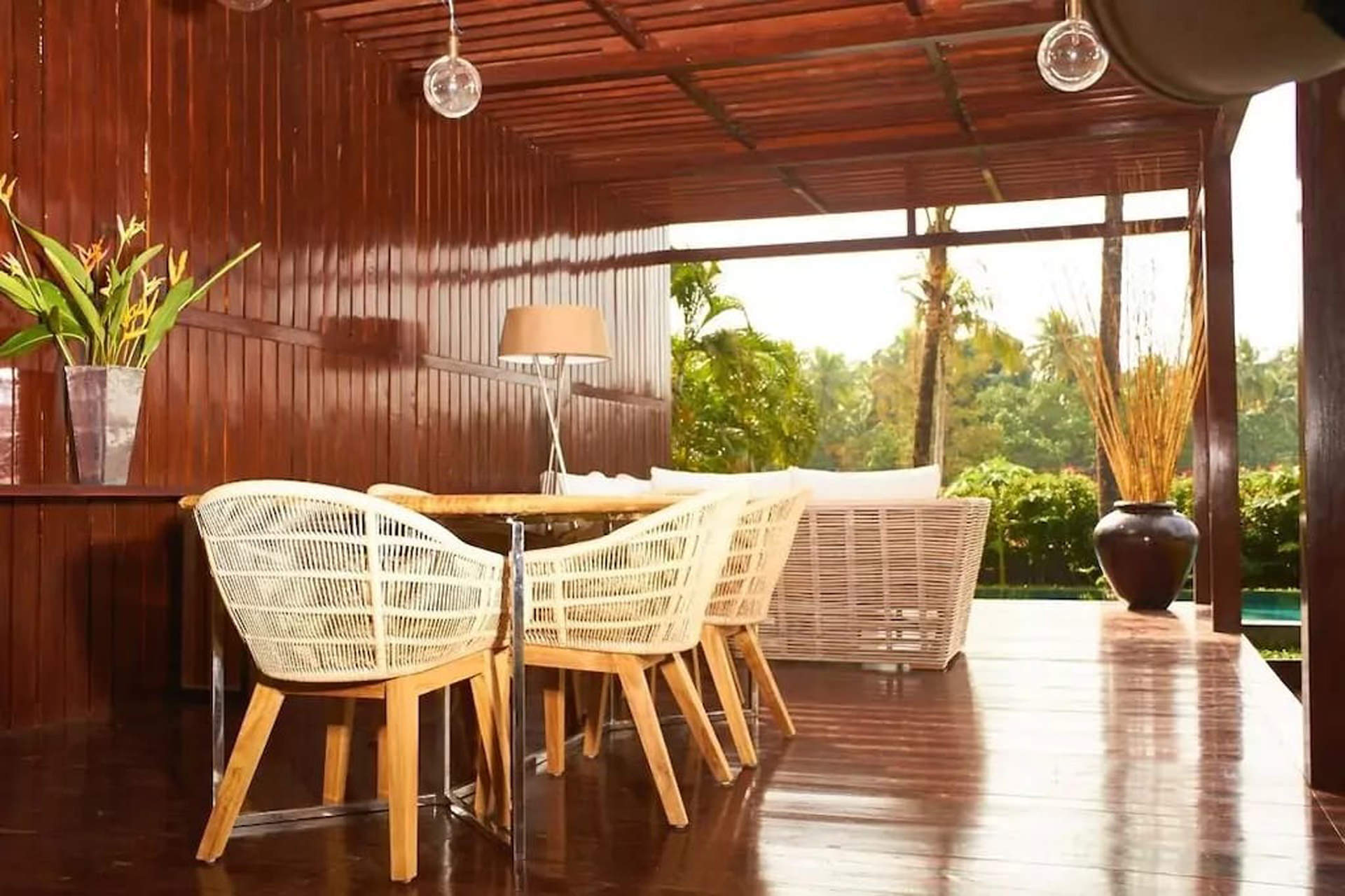 Well furnished interiors at anjuna villa iii