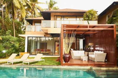 Private Pool at Anjuna Villa 3