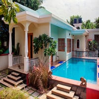 Villa Alethiea, 3 bedroom luxury villa in Vagator, Goa