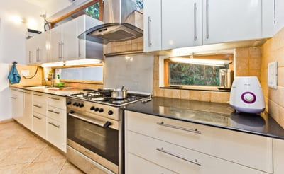 MOdern Equipped Kitchen At villa hams