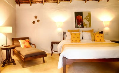 Exotic Styled Bedroom at Villa Poo