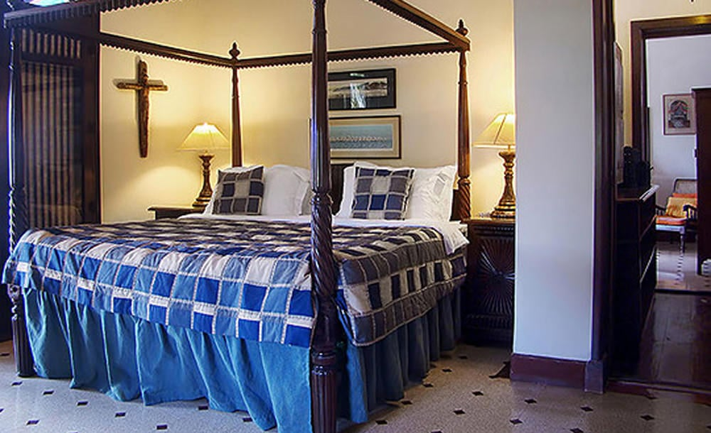 King sized Beds At villa rockhreart