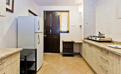 Fully Equipped kitchen Of villa ruby