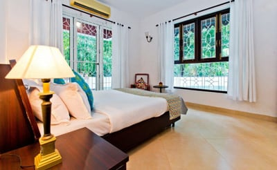 Spacious Bedroom of villa ruby