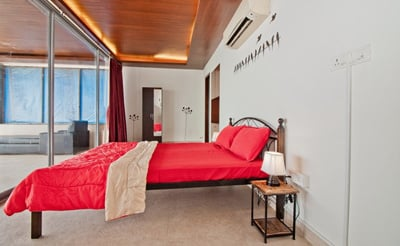 Well Structured Bedroom At villa Sea Breeze